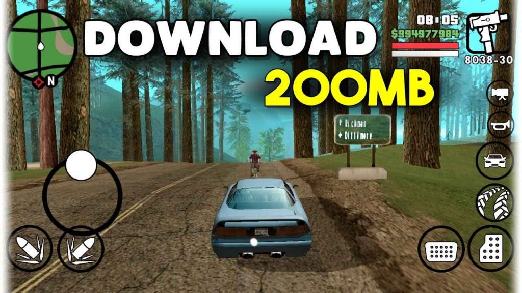 GTA SA LITE v10 APK + DATA Download ( Adreno + Mali + CLEO Mod)