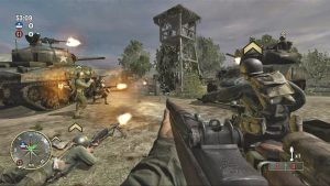 Call Of Duty : Roads To Victory PPSSPP game Download .ISO