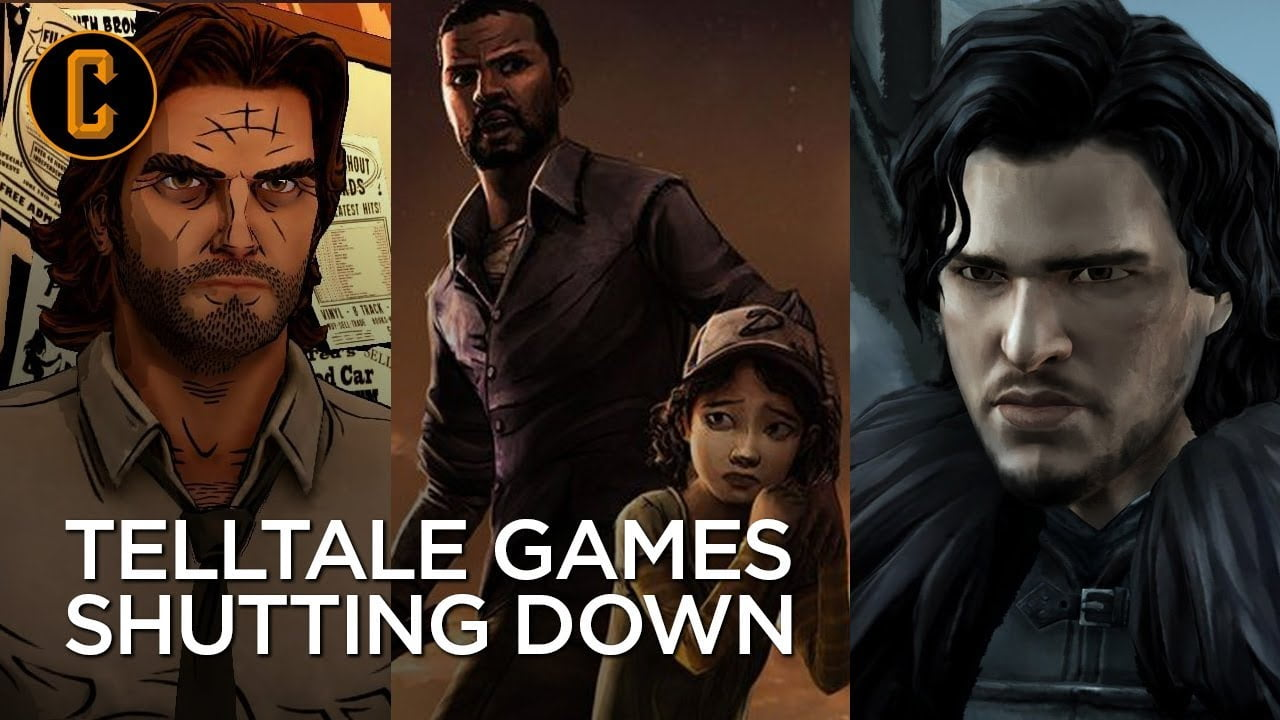 Telltale games shutting down